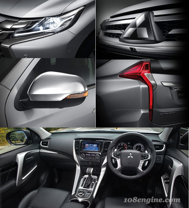 Mitsubishi New Pajero Sport 2wd Gt
